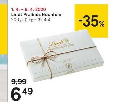 Lindt Pralinés Hochfein, 200 g