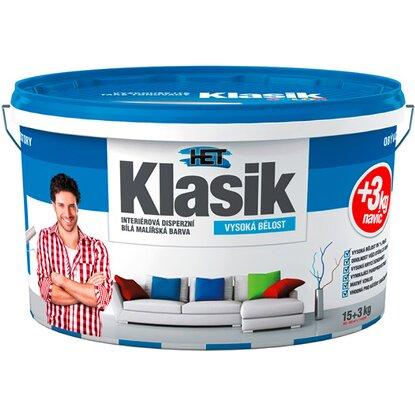 Het Klasik maliarsky náter biely 15 kg + 3 kg