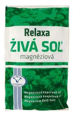 Relaxa Živá soľ magnéziová 2x500 g