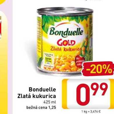 Bonduelle Gold 425 ml