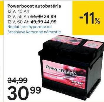 Powerboost autobatéria