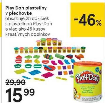 Play Doh plasteliny v plechovke