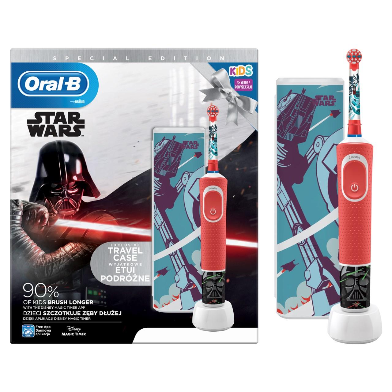 Oral B Vitality Star Wars kefka + púzdro 1x1 ks