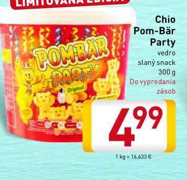 Chio Pom Bär Party 300 g