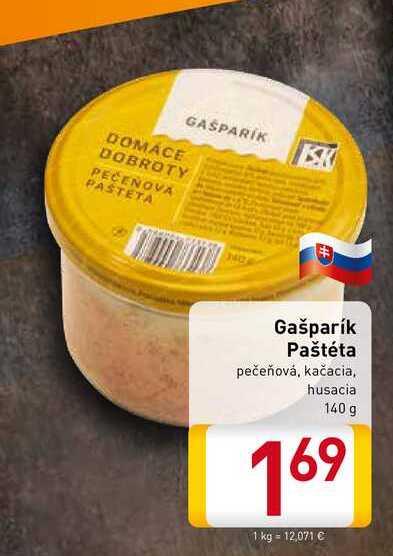 Gašparík Paštéta  140 g