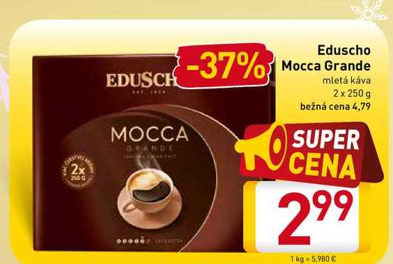 Eduscho Mocca Grande 2x 250 g
