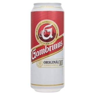 Gambrinus plechovka