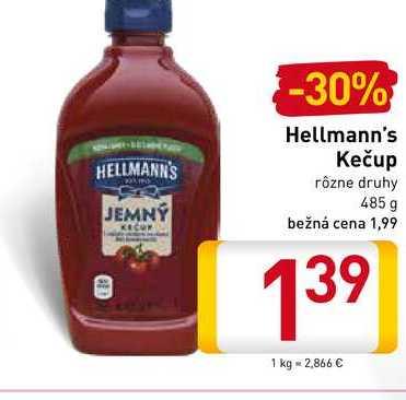 Hellmann's  kečup 485 g