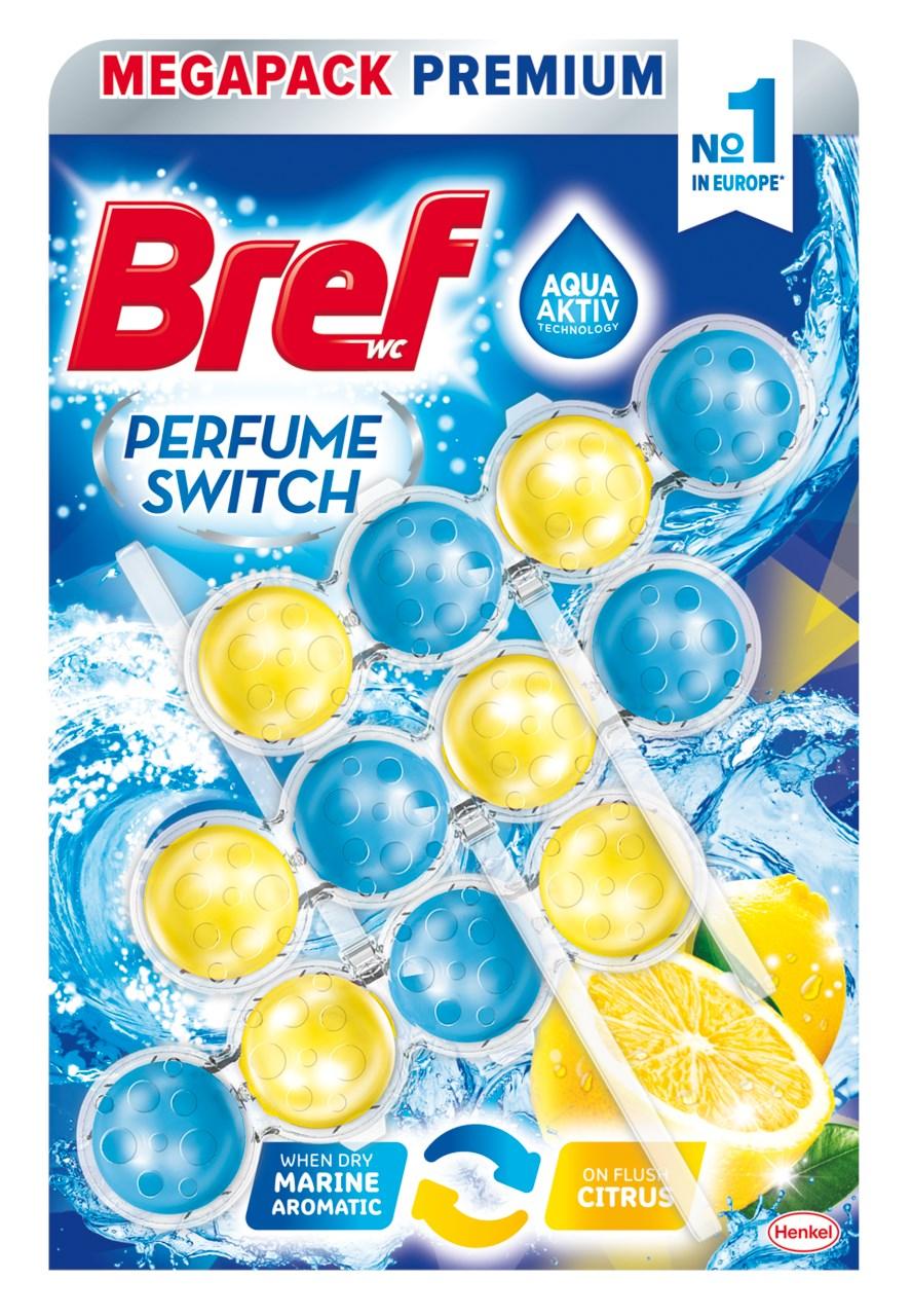 Bref Perfume switch Marine - Citrus 3x50 g