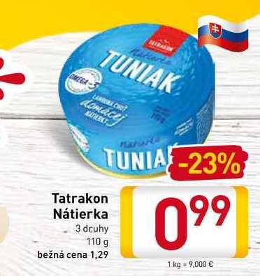 Tatrakon Nátierka  110 g