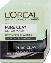 Čistiaca pleťová maska Pure Clay Detox, 50 ml