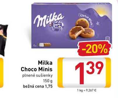 Milka Choco Minis 150 g