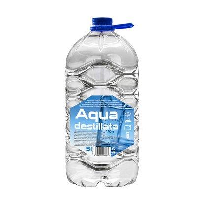 AQUA Destillata Destilovaná voda 5 l