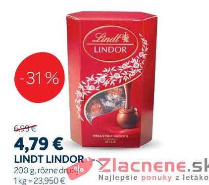 LINDT LINDOR, 200 g