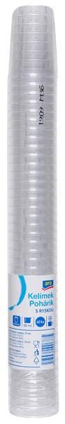 Pohár na alkohol 0,2-0,5dcl plast ARO 40ks