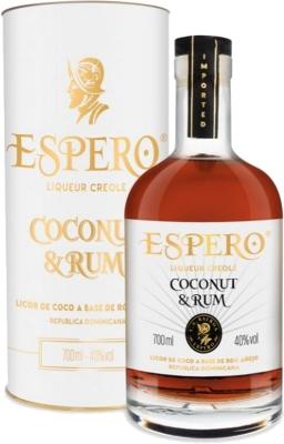 Ron Espero Coconut & Rum 40% 0,70 L