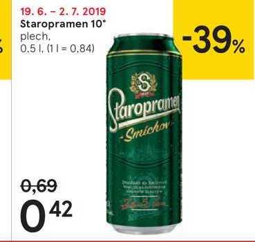 Staropramen 10 %, 0,5 l