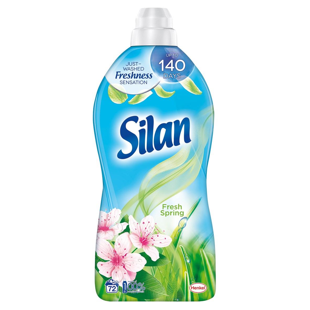 Silan Fresh Spring aviváž 72 praní 1x1800 ml