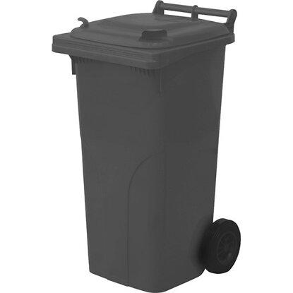 Nádoba na odpadky 120 l plastová čierna