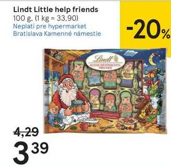 Lindt Little help friends, 100 g