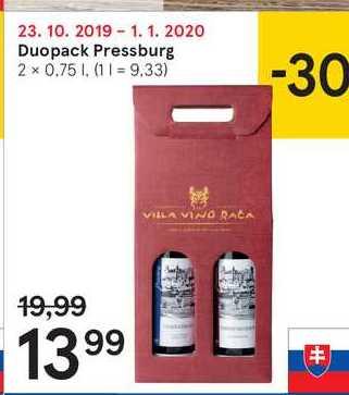 Duopack Pressburg, 2 x 0,75 l