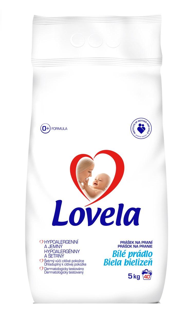 Lovela White prací prášok 40 praní 1x5 kg