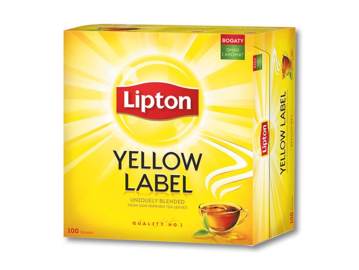 Yellow Label/ Earl Grey