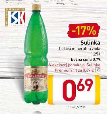 Sulinka 1,25 l