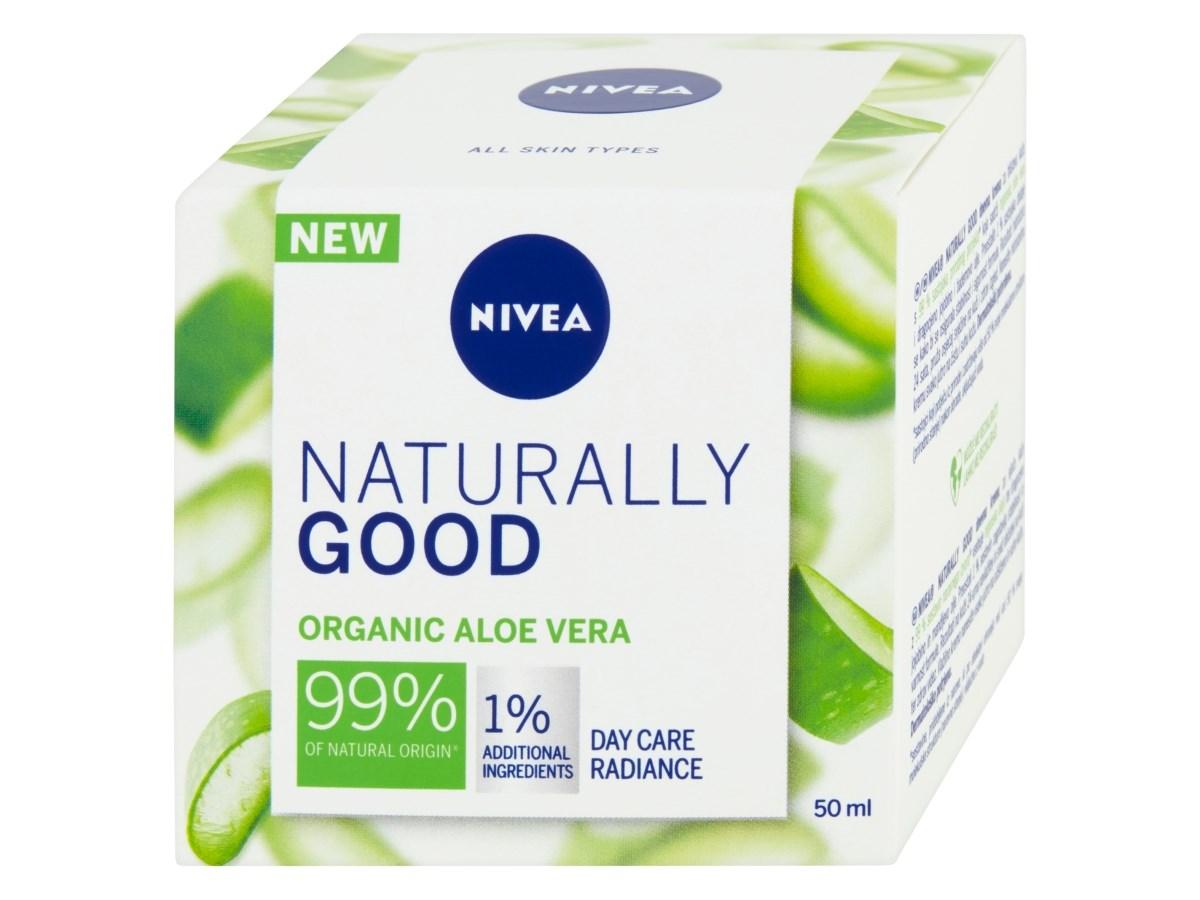 Nivea Naturally Good denný krém 1x50 ml
