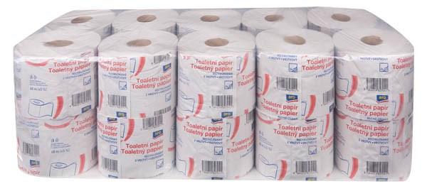 ARO Toaletný papier 2-vrstvový 68m 1x20ks
