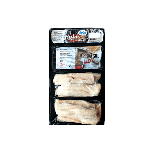 Hoki filety morská soľ, 515 g