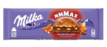 Milka Almond Caramel, 300 g