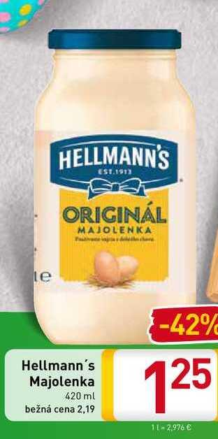 Hellmann΄s Majolenka 420 ml