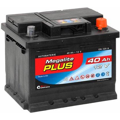 Compass Autobaterie Megalite + 40 Ah 320 A