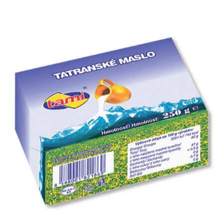 Tatranské maslo 82%