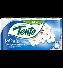 TENTO WHITE, 2-vrstvovy toaletny papier