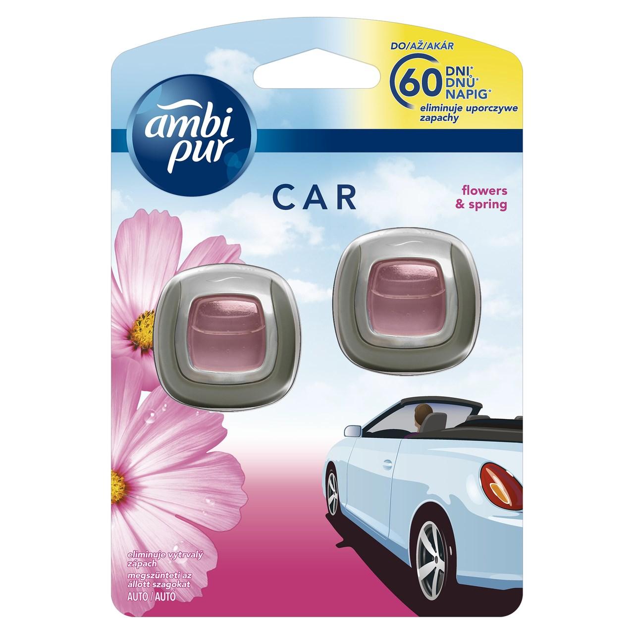 Ambi Pur Car flover&spring 1x2 ks