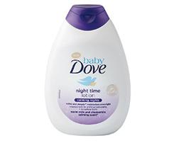 Dove Baby Night Time telové mlieko 400ml
