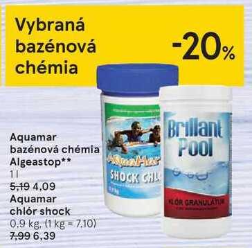 Aquamar bazénová chémia Algeastop**