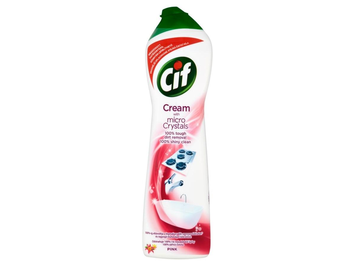 Cif Cream Pink čistiaci prostriedok 1x500 ml