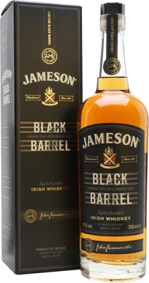 Jameson Black Barrel 40% 0,70 L