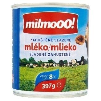 Zahustené mlieko Milmooo!