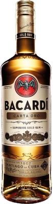 Bacardi Carta Oro 37,5% 1,00 L