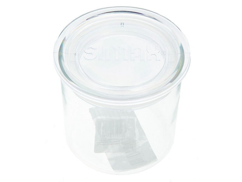Zásobník na potraviny sklo 0,5 l 1ks