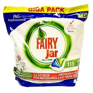 Jar Fairy tablety do umývačky 1x115 ks