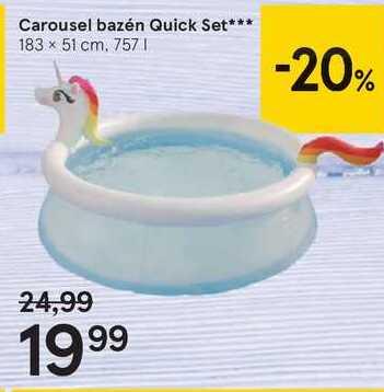 Carousel bazén Quick Set***