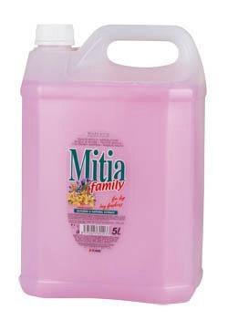Mitia Family jarné kvety tekuté mydlo 1x5 l