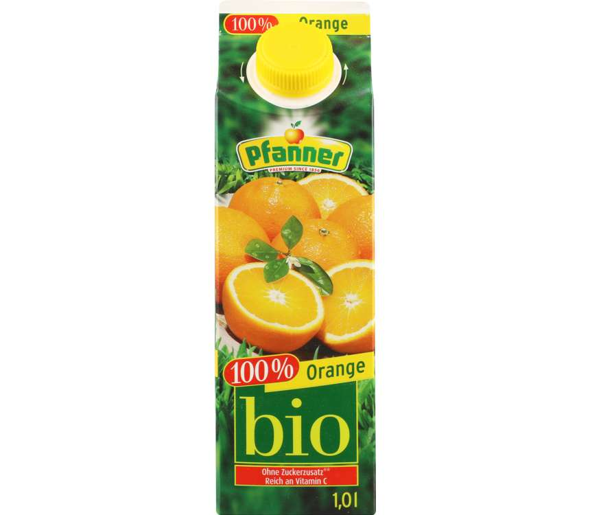 Šťava 100 % Bio