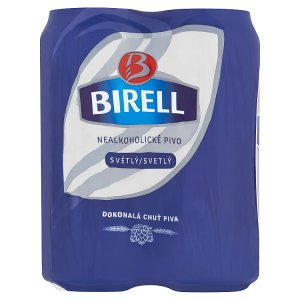 Birell Svetlé nealkoholické pivo 500 ml