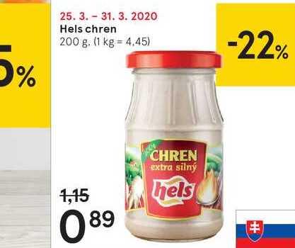 Hels chren, 200 g
